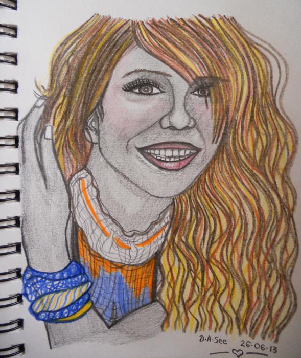 Mariah Carey by dasee